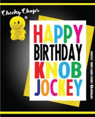 Happy Birthday Knob Jockey c943