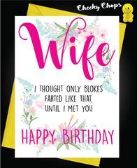 Wife - Farts C449