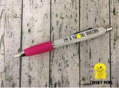 I'm a fucking unicorn - Profanity Pen