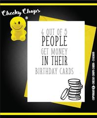Birthday Money in your card C903