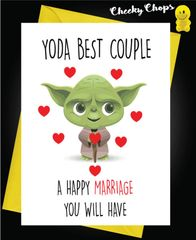 YODA BEST COUPLE, A HAPPY LIFE YOU MUST HAVE W8
