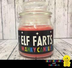 Elf Farts - Christmas Wanky Candle - XMC02