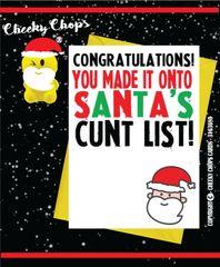 Santa's cunt list XM02
