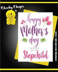Mother's Day Greeting Card -M2 Favourite Step Child