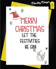 Let the festivities be gin XM108
