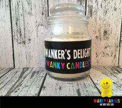 Wanker's Delight - Wanky Candle - WC10