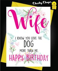 Wife - Love the Dog C455