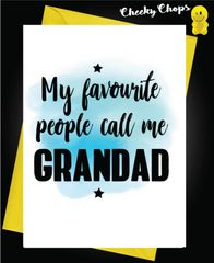 My Favourite People call me grandad F33
