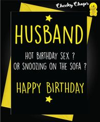 HUSBAND - Birthday Sex C460
