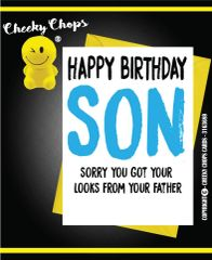 BIRTHDAY / SON / LOOKS FROM DAD - C117