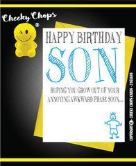 BIRTHDAY / SON /CHILD ANNOYING - C116