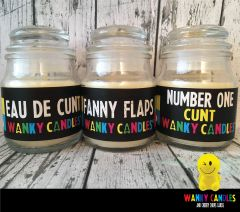 WANKY CUNT PACK - Wanky Candle