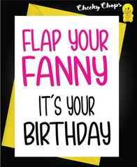Flap your Fanny It's your Birthday C106