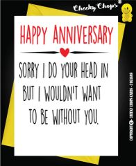 Anniversary Card - Sorry A26