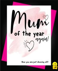 Mum of the year - again M40