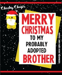 Christmas Card - Brother XM70