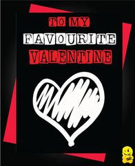 you're my favourite valentine V81