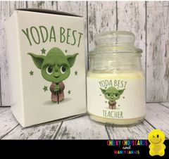 YODA BEST TEACHER - Cheeky Candles