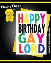 Happy Birthday Gay Lord c947