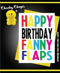 Happy Birthday Fanny Flaps c935