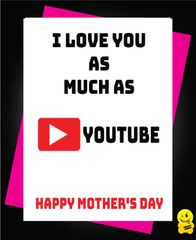 I love you a much as you tube M51