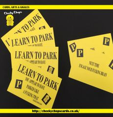 OFFENSIVE PARKING TICKETS - free p&p