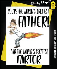 Father Father Birthday Card - C42
