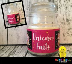 Unicorn Farts - Wanky Candle - WC16