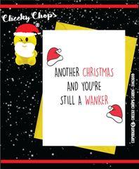 Christmas Card - Still a wanker XM83