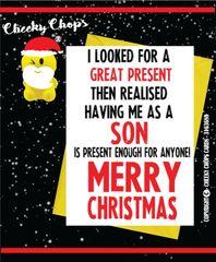 Christmas Card - SON XM76