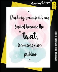 Divorce Card - TWAT - D1