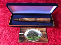Spalted Hawaiian Koa Commissioner Pen