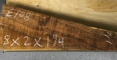 Hawaiian Koa Board Curly 4/4 #E-108