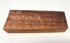 Hawaiian Koa Board Curly 1 1/8 #PC-115