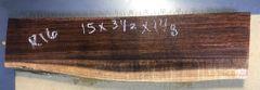 Hawaiian Koa Board Curly 1 1/8 #R-16