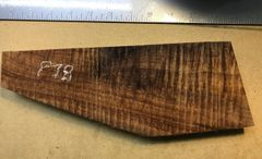 Hawaiian Koa Board Curly 4/4 #P-78