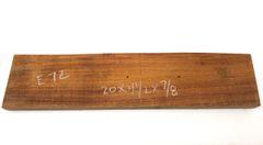 Hawaiian Koa Board Curly 7/8 #E-72