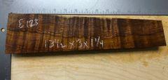 Hawaiian Koa Board Curly 4/4 #E-123
