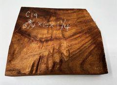 Hawaiian Koa Board Curly 4/4 #C-19