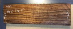 Hawaiian Koa Board Curly 5/4 #P-61