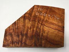 Hawaiian Koa Board Curly 4/4 #C-16