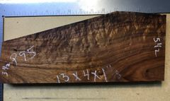 Hawaiian Koa Board Curly 4/4 #P-95