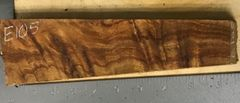 Hawaiian Koa Board Curly 4/4 #E-105