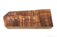Hawaiian Koa Board Curly 1 1/8 #C-68