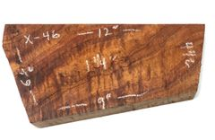 Hawaiian Koa Board Curly 5/4 #X-46