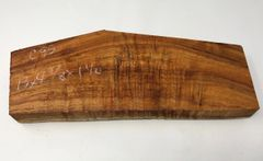 Hawaiian Koa Board Curly 4/4 #C-95