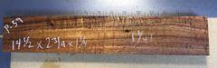 Hawaiian Koa Board Curly 5/4 #P-59
