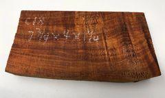 Hawaiian Koa Board Curly 5/4 #C-18