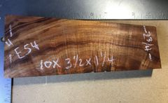 Hawaiian Koa Board Curly 5/4 #E-54
