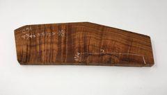 Hawaiian Koa Board Curly 4/4 #C-51